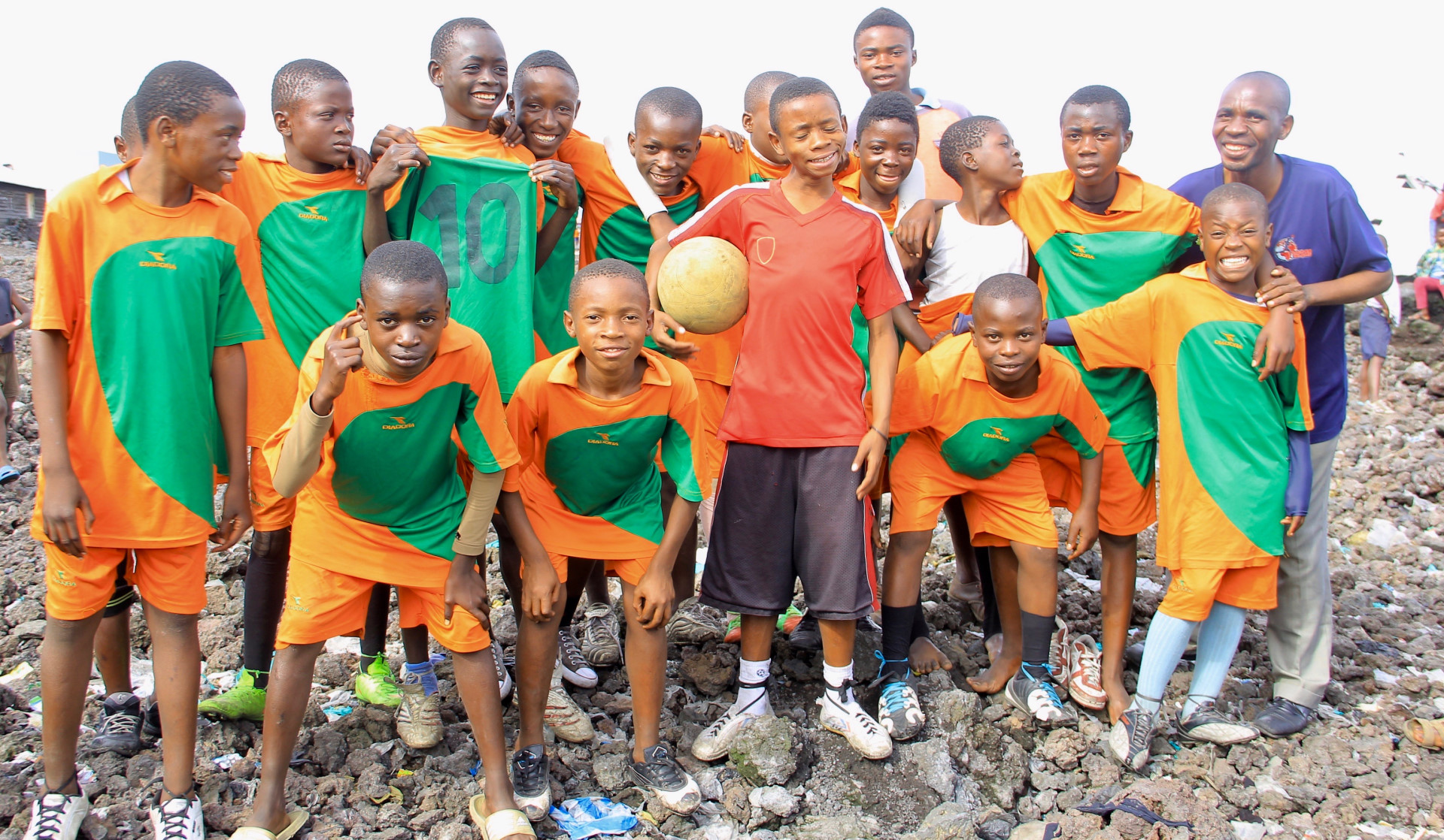 """I now realise just how powerful sport can be to reach and help people.""*Pastor Ruboneka, DRC"